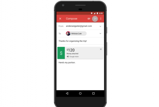Android Users Can Now Send And Request Money In Gmail