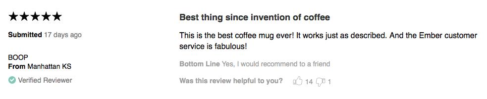 Perfect Temperature Control Coffee Mug